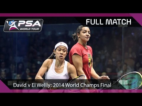 Squash: Full Match -  2014 Women's World Championship Final - David v El Welily