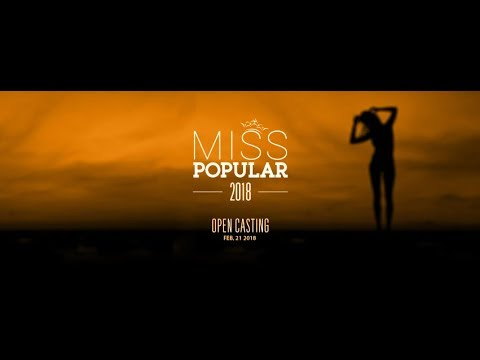 Live Streaming | Miss Popular 2018: Next Top Model - Open Casting (Part 2)