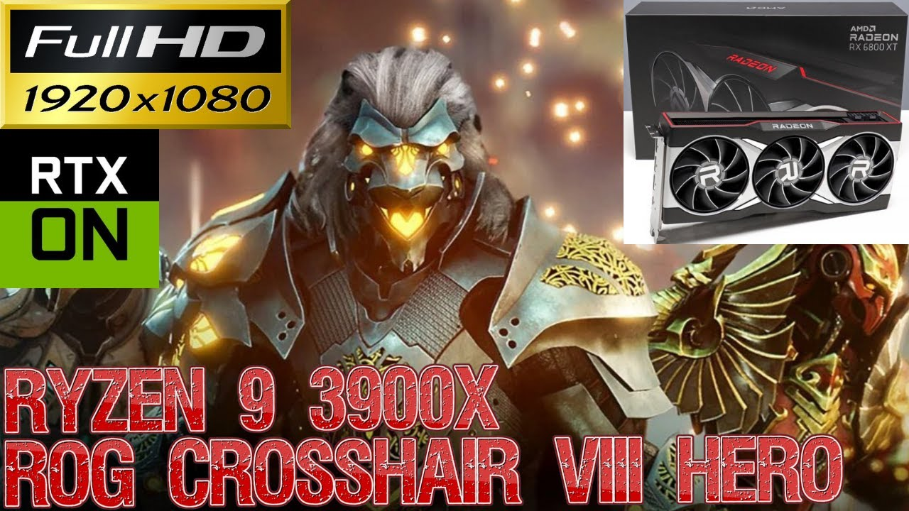 Download Godfall Epic Settings Raytracing 1080P | RX 6800 XT | Ryzen 9 3900X