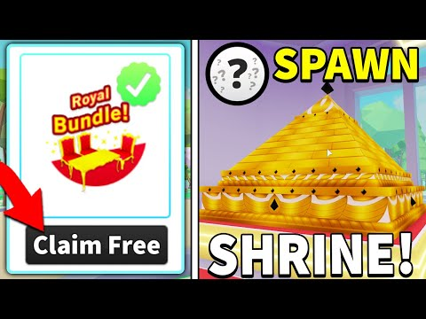 INFINITE VIP CUSTOMERS With FREE Royal Bundle In My Restaurant! *NEW ??? SPAWN SHRINE*
