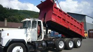 1998 Mack RD690S Tri Axle Dump Truck - TRO 0817151