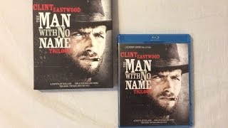 The Man With No Name Trilogy: Remastered (1964-1966) - Blu Ray Review and Unboxing