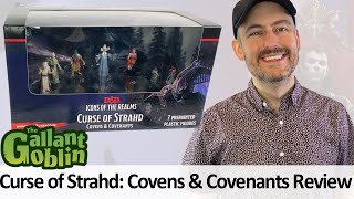 Curse of Strahd: Covens & Covenants Minis Review - Icons of the Realms - WizKids Prepainted