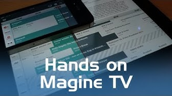 Magine Cloud-TV Hands-On (Deutsch)
