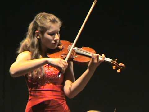 Beethoven Violin-Konzert 3.Satz, Solistin: Milena Wilke (15 Jahre)