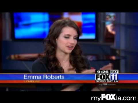 Emma Roberts Enjoying the 'Lymelife'