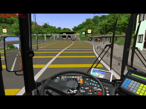 OMSI Great Grundorf v.2 A4 Hong Shing Port ~ Airport Ground Transportation Centre