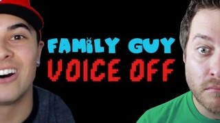 Family Guy Voice Off! Ft. Mikeybolts