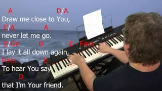 """Learn to Play """"Draw Me Close"""" by Kelly Carpenter. Key = A Major."""