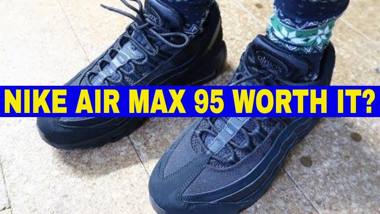 Nike Air Max 95 Running Shoe Review