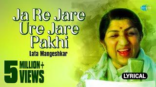 Ja Re Jare Ure Jare Pakhi with lyrics | Lata | Four Square Hits Bengali Modern Of Female Artists