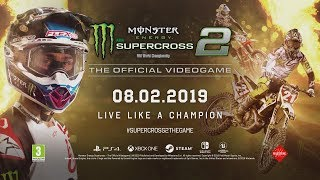 Monster Energy Supercross - The Official Videogame 2 - Announcement Trailer