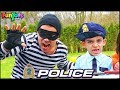Policeman Jason Protects Toys with Police Car | Funny Kids Story