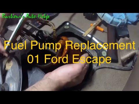 Fuel Pump Replacement 01 Ford Escape 3l