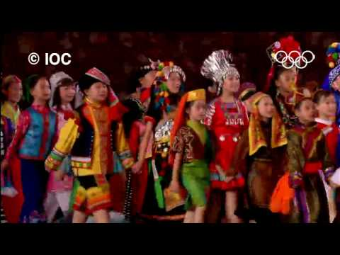 Incredible Highlights - Beijing 2008 Olympics | Opening Ceremony