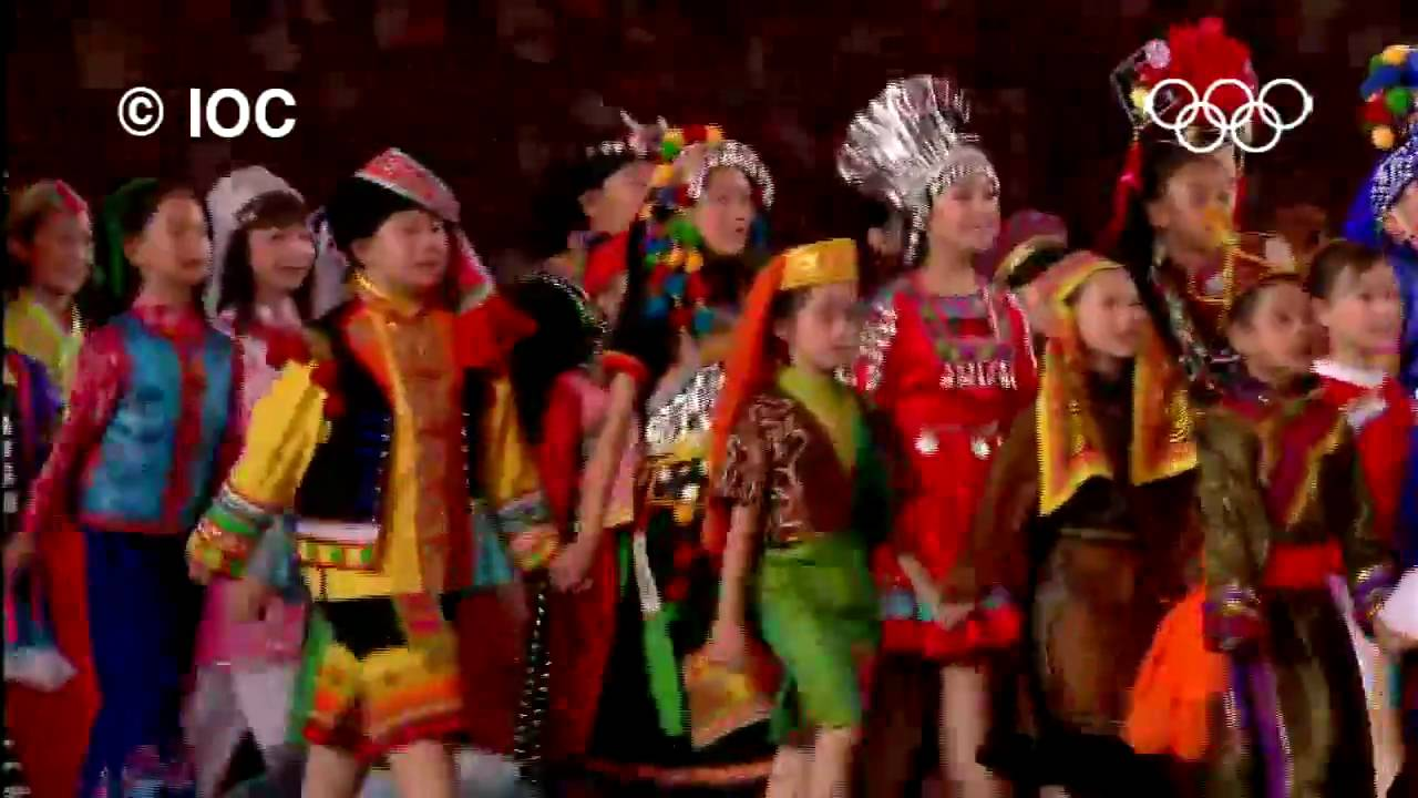 Highlights beijing 2008 olympics opening ceremony youtube