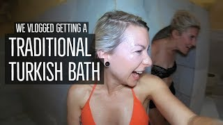 What happens in a traditional hamam Turkish bath? GoPro vlog