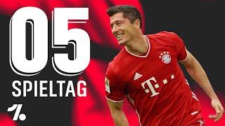 OneFootball Bundesliga Rückblick 5. Spieltag - Mainz 05 im Ginterschlaf!