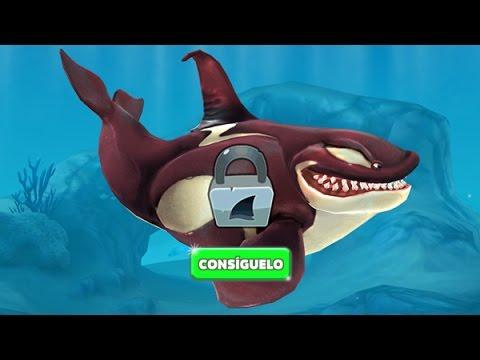 Hungry Shark World Desbloqueando a la Ballena Asesina