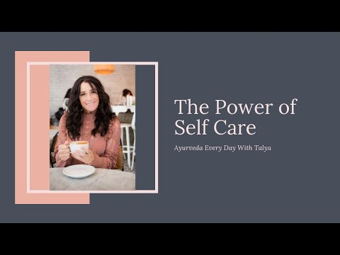 The Power of Self Care