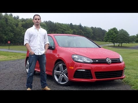 Volkswagen Golf R 2012 Test Drive & Car Review with Ross Rapoport by RoadflyTV