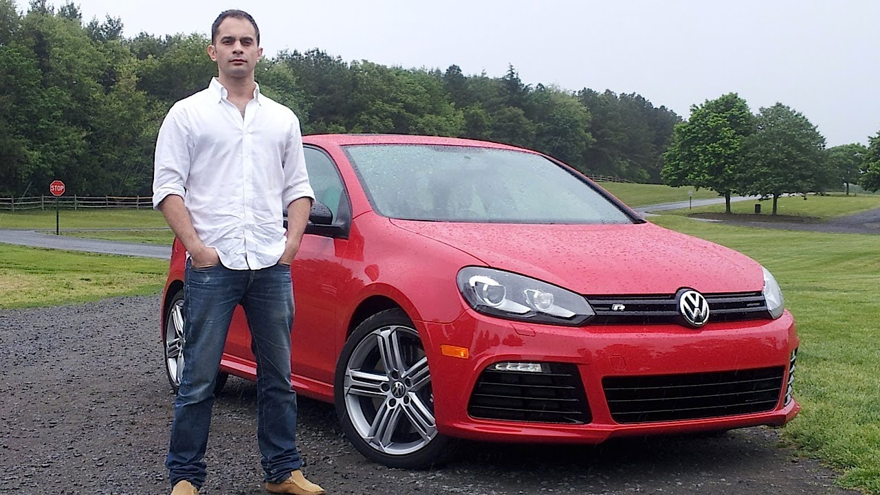 VW 2012 vw golf : Volkswagen Golf R 2012 Test Drive & Car Review with Ross Rapoport ...
