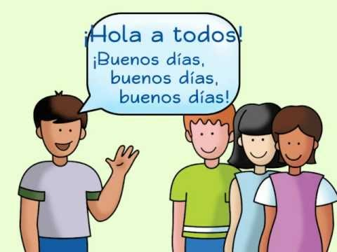 Hola a todos: A Spanish Greeting Song - Calico Spanish Songs for Kids