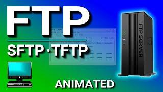 FTP (File Transfer Protocol), SFTP, TFTP Explained.