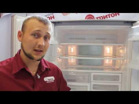 видео: Холодильник sharp sj-f 73 pesl