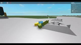 landing in the trash can in ragdoll engine (roblox)