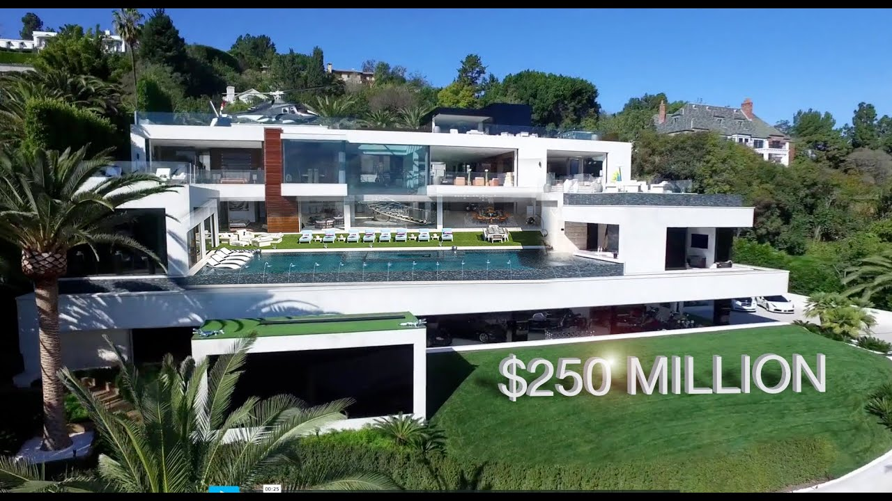 Most Expensive House in the US | 924 Bel Air Rd. California