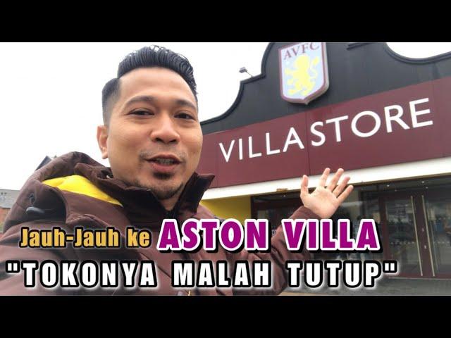 ASTON VILLA FOOTBALL CLUB. VILLA PARK STADION KEREN DI BIRMINGHAM. KESINI MALAH TUTUP