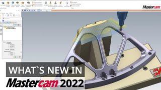 Mastercam 2022: Vorschuboptimierung   CAD/CAM-Software