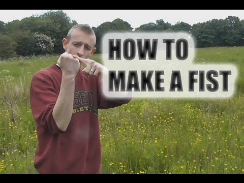 How To Make A Fist and Punching Tips - Boxing, Karate, MMA