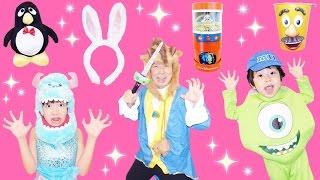 ★「サリーのお買い物!マイクと野獣にお土産買ってきたよ~!」★Disney's souvenir★ thumbnail