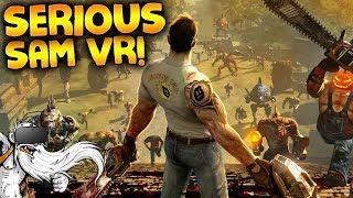 "Serious Sam VR Gameplay - ""DUAL WIELDING MINIGUNS!!!"" - Let"