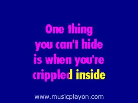 John Lennon   Crippled Inside - Karaoke sing-a-long