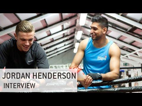 Amir Khan Interviews Jordan Henderson   MaxiNutrition