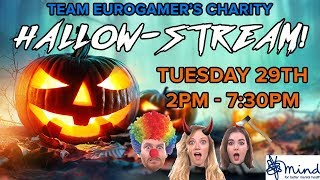 The Team Eurogamer Hallow-stream fundraiser in aid of MIND