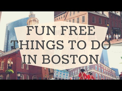 Fun Free Things To Do In Boston