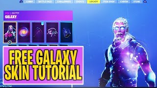 "How to Get ""GALAXY SKIN"" FREE in Fortnite *WORKING METHOD* (Free GALAXY SKIN BUNDLE)"