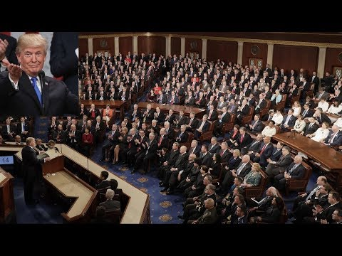 Trump's 2018 State of the Union in 23 minutes, the compressed version