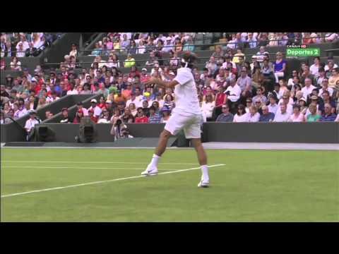 Roger Federer Slow Motion Forehand 2012 #1