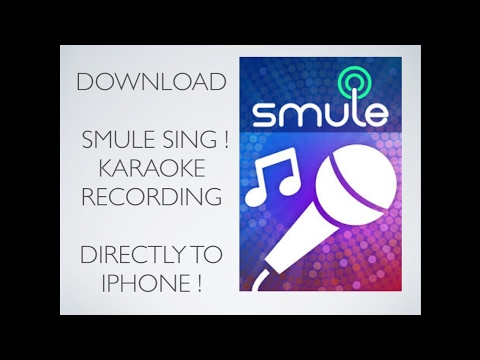 Directly Download Smule Sing Recordings to your iPhone - 3 Minute Tutorial / How to