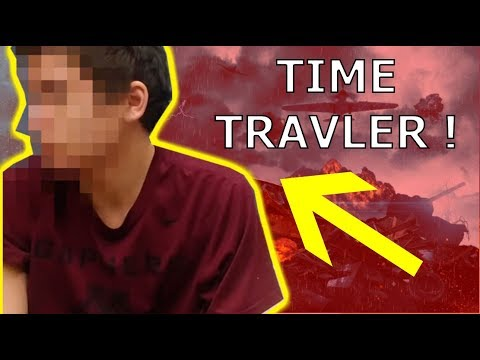 This Man Claims to Be a Time Traveler !