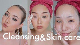 夜の毎日クレンジング〜夏のスキンケアまで♥ベタつく夏でも保湿をしっかりしないと悲惨なことに…|My cleansing&skin care thumbnail