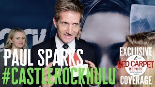 Paul Sparks interviewed at the premiere for S2 of Castle Rock on Hulu #CastleRock #Hulu