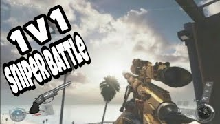 Infinite warfare - 1v1 sniper battle