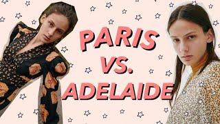Paris Vs. Adelaide - Model Diary