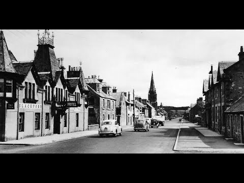 Old Photographs Of Blackford Perthshire Scotland